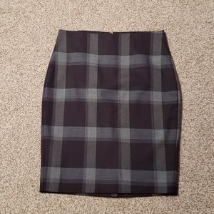 Le chateau color block skirt, made in Canada
